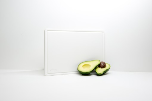 Bright White Travel Board Avocadoes