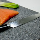 Carving Knife with sushi